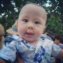 My nephew, Kasey