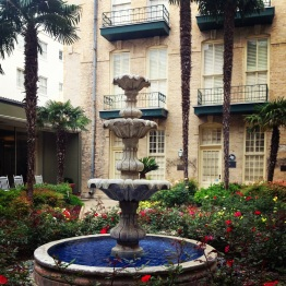 Gardens at the Menger Hotel