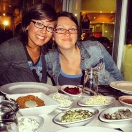 With Sara