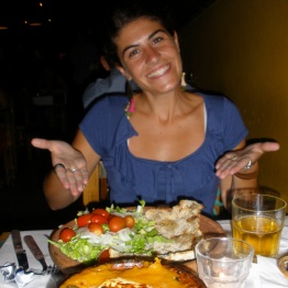 The lovely Agustina introduced me to Argentinean speciality cooking!