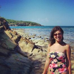gokimdo in Puerto Rico - Luquillo Beach