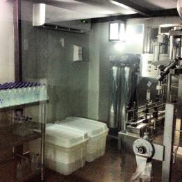 Onsite water distillery