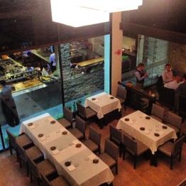 Main level dining area