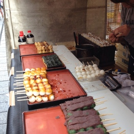 Dango (rice dumplings)
