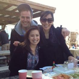 Eduardo, Kim, Lin Lin