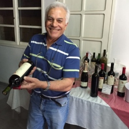 The winemaker, Carmelo Patti